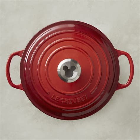 Oven Mickey Mouse le creuset mickey mouse 90th birthday celebration cast