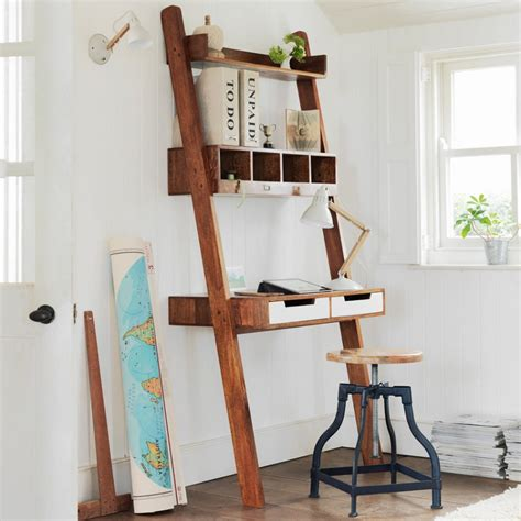ladder desk and shelves ladder desk ikea simple solution for workstation as well