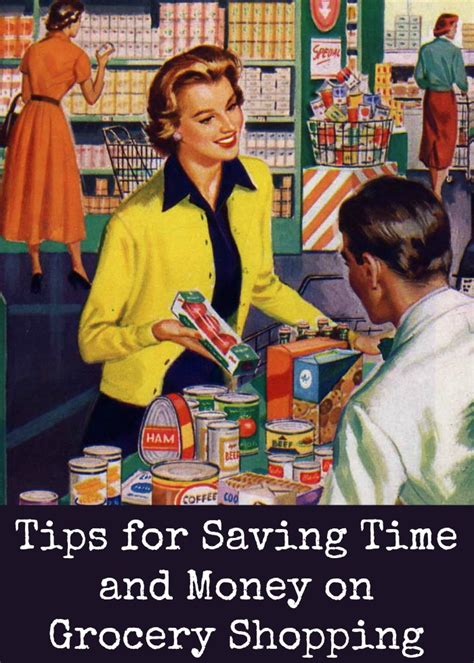 save major time and money with this grocery list template tips for saving time and money on grocery shopping