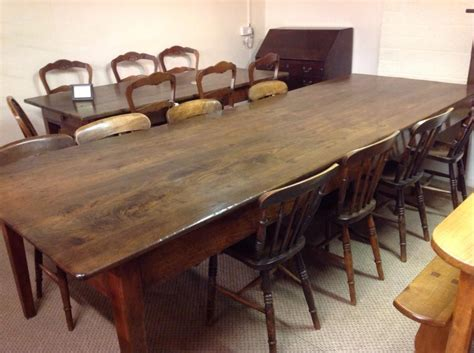 large dining table with bench large antique dining table antique french farmhouse