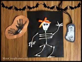 Bat Skeleton 5 Easy Halloween Crafts For Kids Mom Complicated