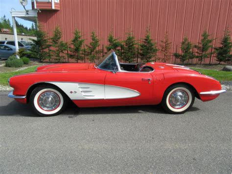 1958 corvette hardtop for sale 1958 chevrolet corvette convertible roadster hardtop for