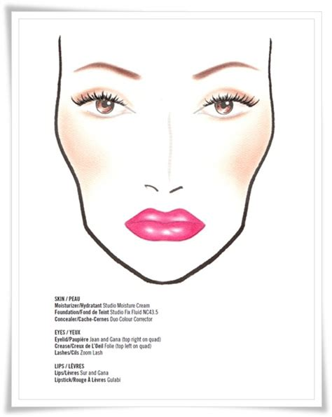 Mac Charts N Collection by Make Up Charts Coccome