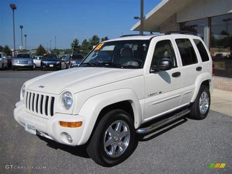jeep liberty white 2003 2003 stone white jeep liberty limited 4x4 70081519 photo