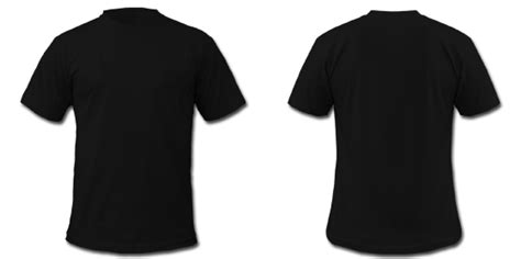 front and back black t shirt template black t shirt template front and back psd clipart best