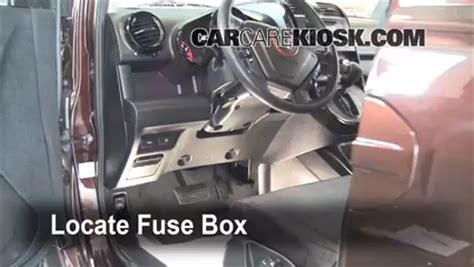 interior fuse box location   honda element  honda element sc   cyl
