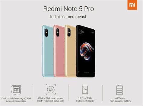 Redmi Note 5 Pro oficjalna specyfikacja xiaomi redmi note 5 i redmi note 5