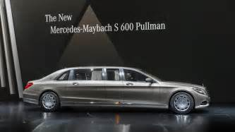 Mercedes Pullman Mercedes Maybach S600 Pullman Is The Epitome Of Three
