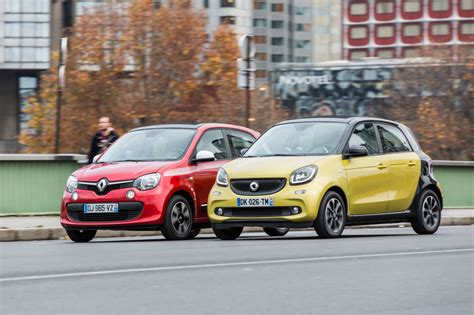 renault smart car renault twingo vs smart forfour which is your favourite