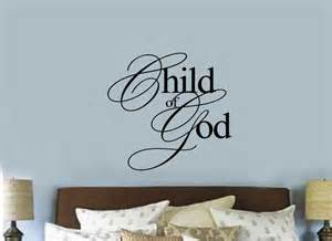 Christian Wall Stickers Child Of God Christian Religious Vinyl Decal Sticker Wall