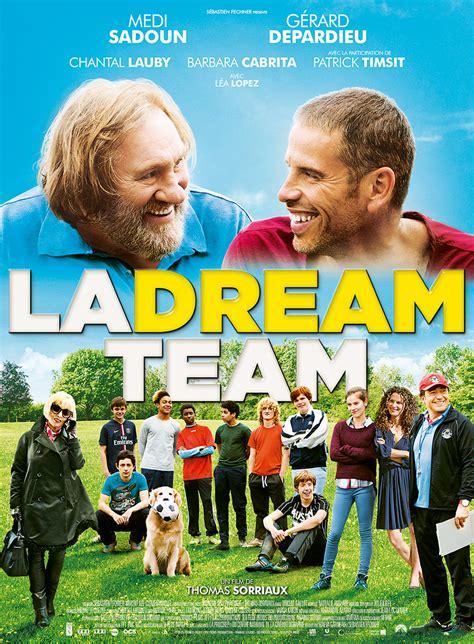 film comedie francais 2016 la dream team film 2016 allocin 233