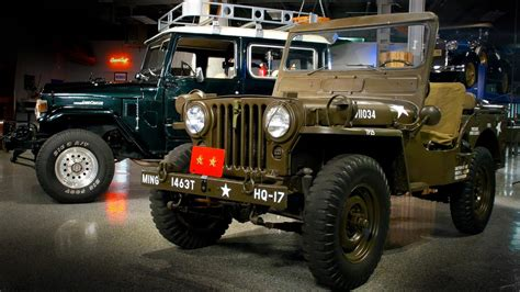 Toyota Land Cruiser Jeep 1952 Willys Jeep Vs 1976 Toyota Land Cruiser Generation