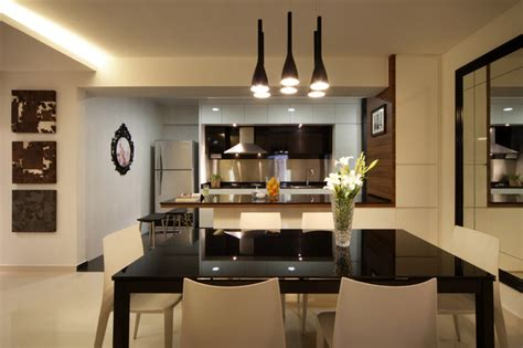 Modern Apartment Kitchen Designs Modern Apartment In Singapore With A Clean Design Modern Kitchen Other Metro By