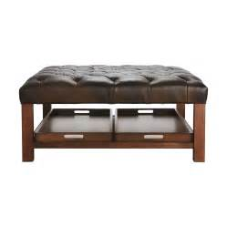 decorative reclaimed wood coffee table with storage for