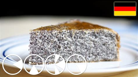 kroatische kuchen luftiger mohnkuchen rezept