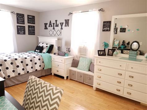 easy decorating ideas for teenage bedrooms grey and teal teen bedroom ideas for girls kids room