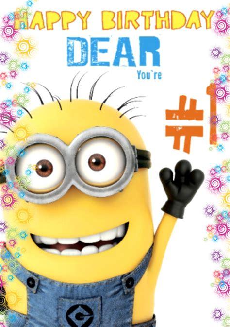 Minion Happy Birthday Wishes Happy Birthday Minions Songs Banana Language