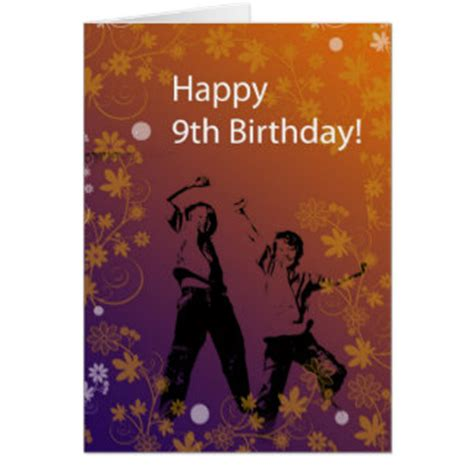 9th Birthday Card Template by 9th Birthday For Boys Cards 9th Birthday For Boys Card