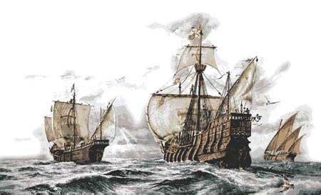 existen los barcos de cristobal colon dibujos e im 225 genes de las tres carabelas de crist 243 bal col 243 n