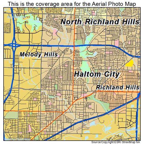 where is haltom city texas on the map aerial photography map of haltom city tx texas