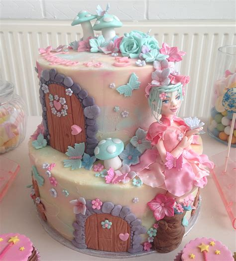 Birthday Decorations To Make At Home by Fairy Theme Birthday Cake Crumbs Couture Cupcakes