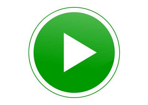 cdr logo vector play green button
