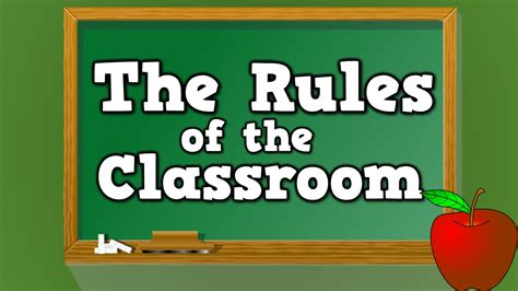 guidelines to create a clipart for new youtube channel classroom rules mr z s third grade class