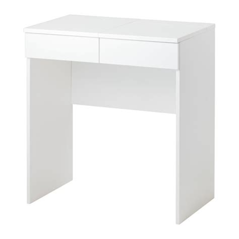 brimnes dressing table white brimnes dressing table white 70x42 cm ikea