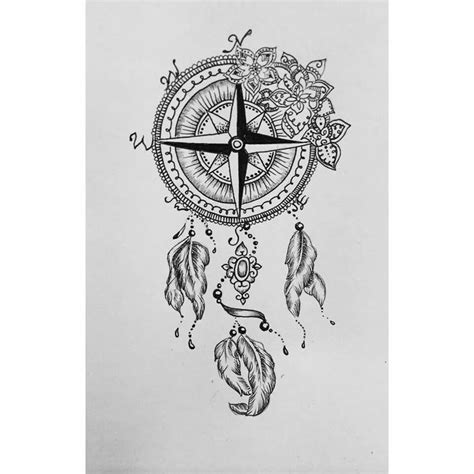 dreamcatcher compass tattoo neck 271 best images about tattoos on pinterest compass