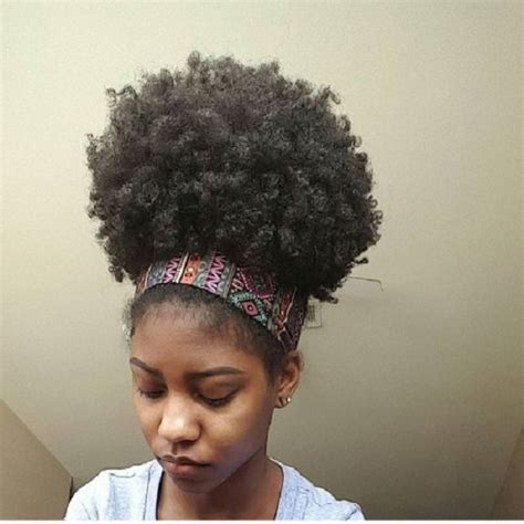 how to do puff in hair 8 quick easy hairstyles on medium short natural hair