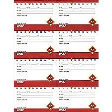 cub scout award card template 1000 images about scouts on cub scouts pack
