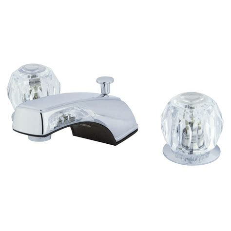 kingston brass ks2761cflls widespread kitchen faucet less kingston brass kb921b americana twin acrylic handle 8