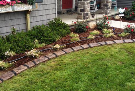 Decorative Landscape Edging by Garden Decorative Edging In The Garden