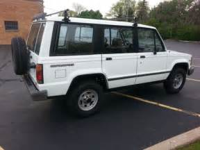 1991 Isuzu Trooper Value 1991 Isuzu Trooper White 4x4 5 Speed Manual Quot Quot Runs
