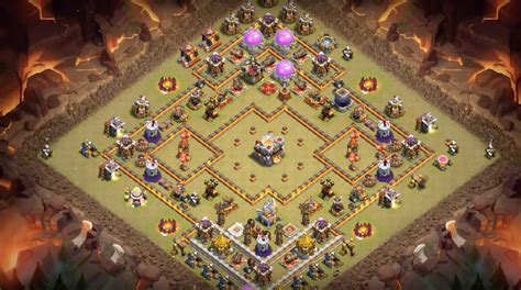 th11 clash of clans best base layouts 10 farming trophy war base layouts for february 2017