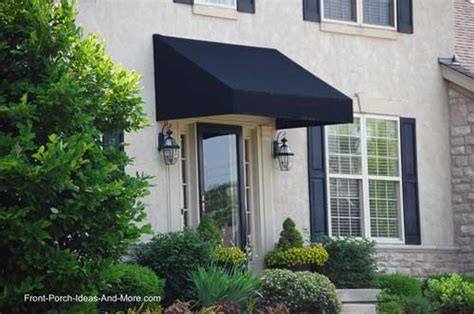 Doorway Awnings Front Porch Designs For Colonial Home