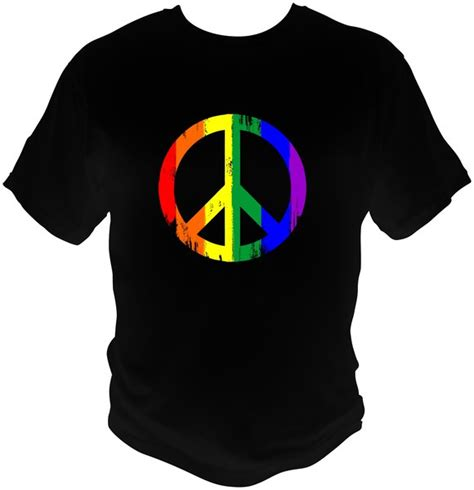 Tshirt Black Choose Peace peace sign shirts