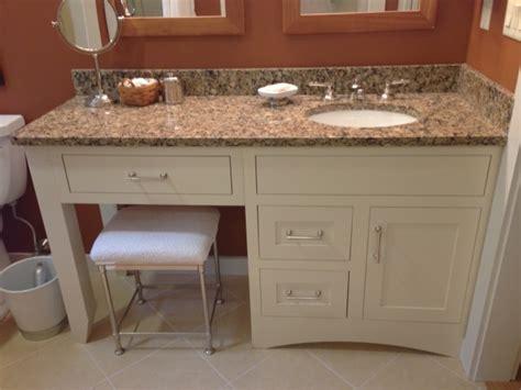 single sink vanity with makeup area bathroom vanity with makeup station bathroom vanity with