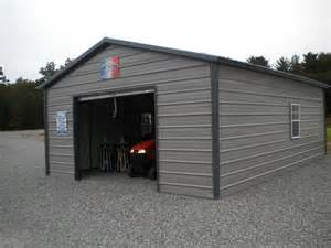 18x26 a frame enclosed carport garage pine creek structures