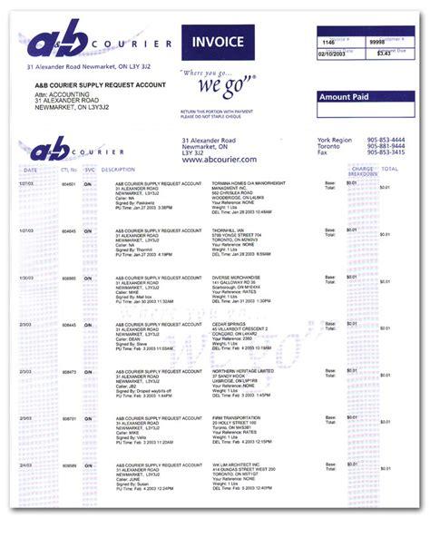 A&B Courier   Operational Info   Where You Go  We Go
