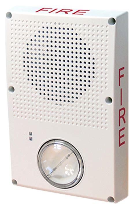 edwards signaling wg4 speaker (strobe) series outdoor
