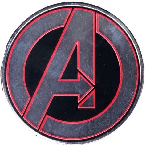 Home Decor Items by Marvels The Avengers Logo Heavy Duty Metal Sticker