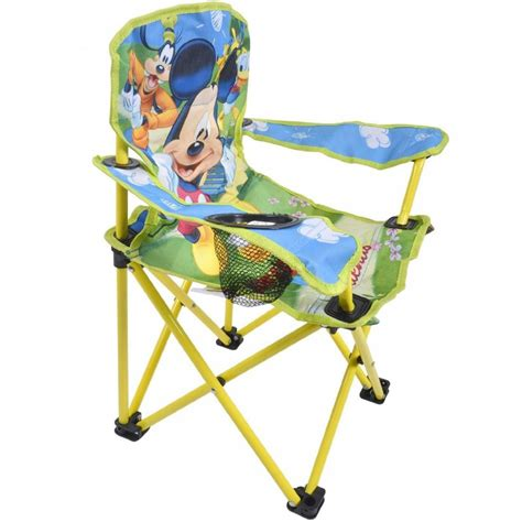 disney mickey mouse childrens folding deck chair