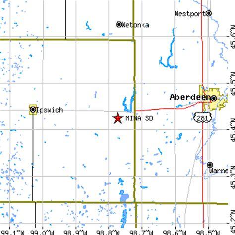 mina, south dakota (sd) ~ population data, races, housing