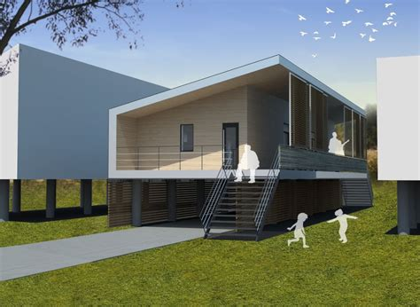 cost of building home toronto architects win new orleans passive house design