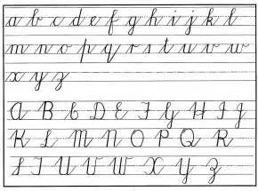 cursive handwriting a dying missjanice