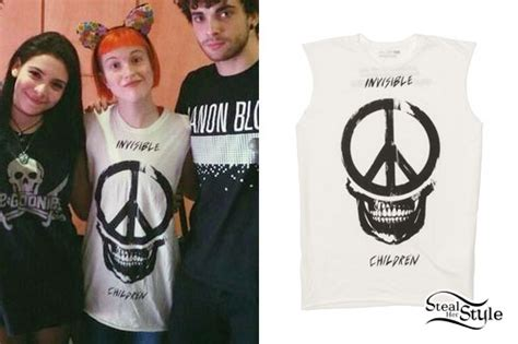 Tshirt Paramore Hayley Williams 02 what a scoop how to get hayley william s style