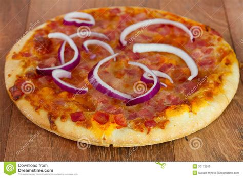 table pizza ontario pizza on the table royalty free stock photo image 30172265
