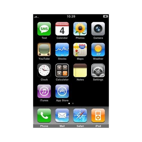 iphone 4 home page images