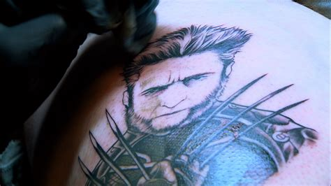 xmen tattoo ink master elimination tattoo x men color portraits part iii ink